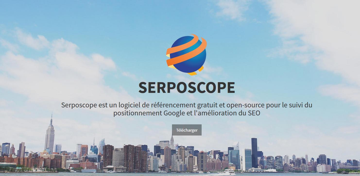 suivre ses positions dans google gratuitement avec serposcope