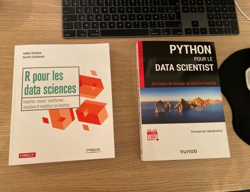 2 Livres (en Français) pour démarrer en Data Science – R / Python