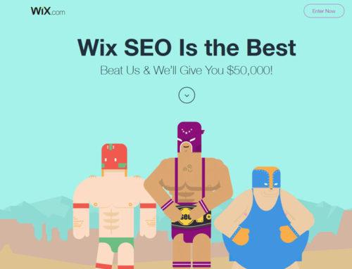 SEO Hero : Concours SEO international organisé par Wix