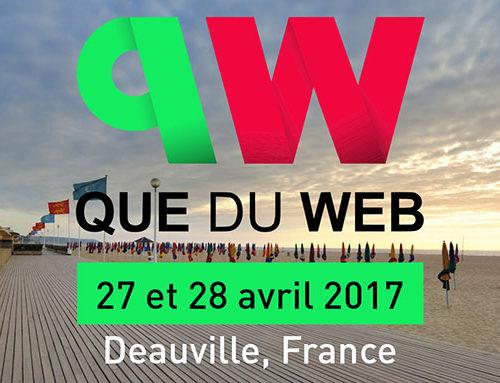 Que Du Web 2017 : Mon Bilan