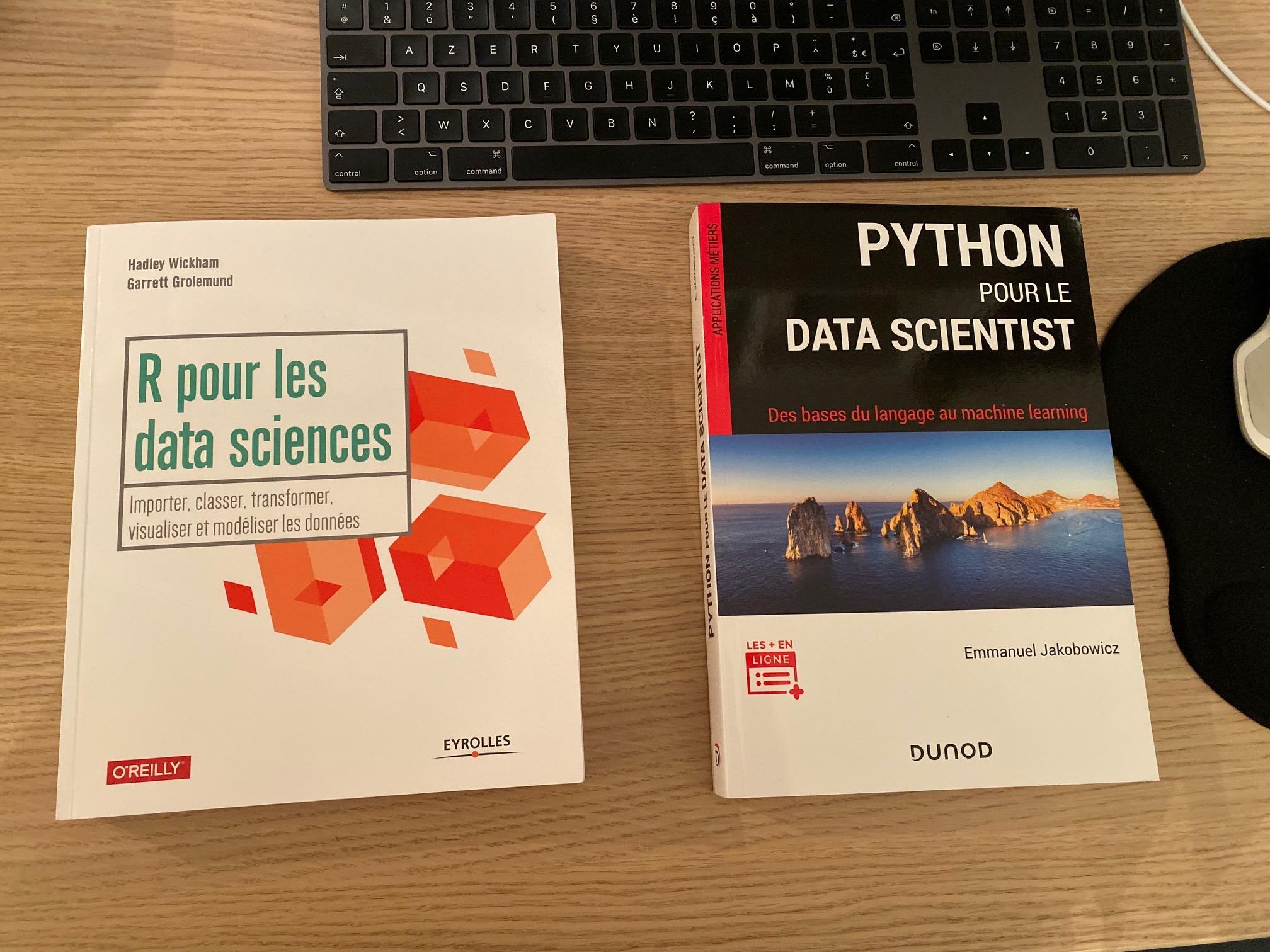 Livres Data Science - R & Python